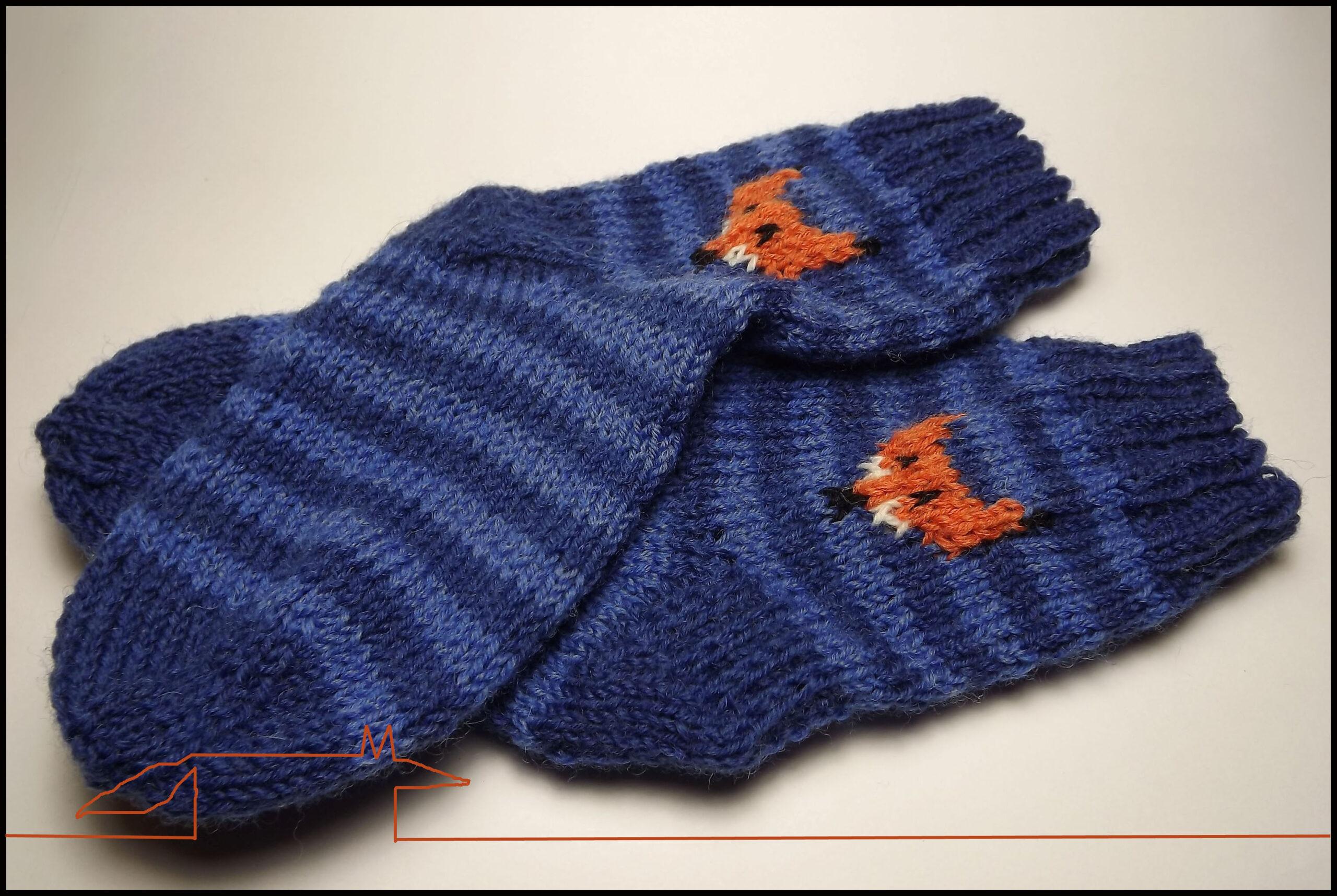 Fox kids socks